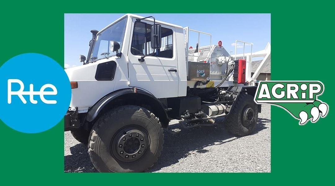 Agrip | Engins industriels | Exemple de rénovation d'un Unimog pour RTE